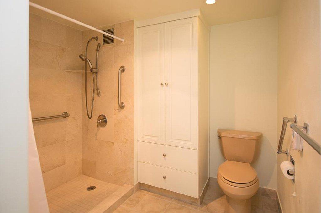Portfolio before remodel, bathroom