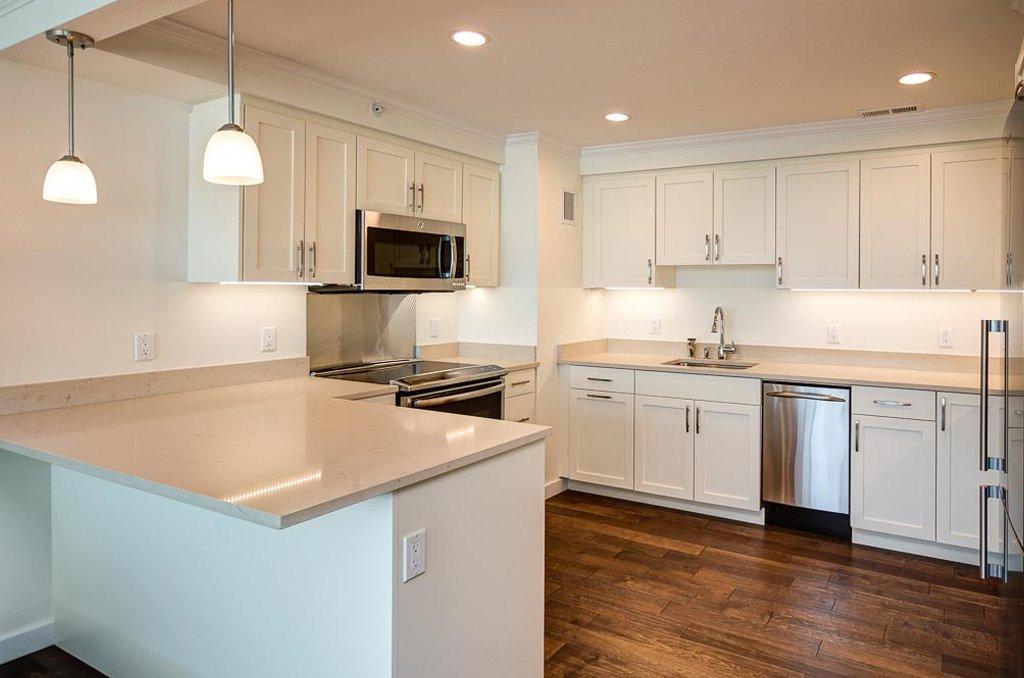 After remodel kitchen design