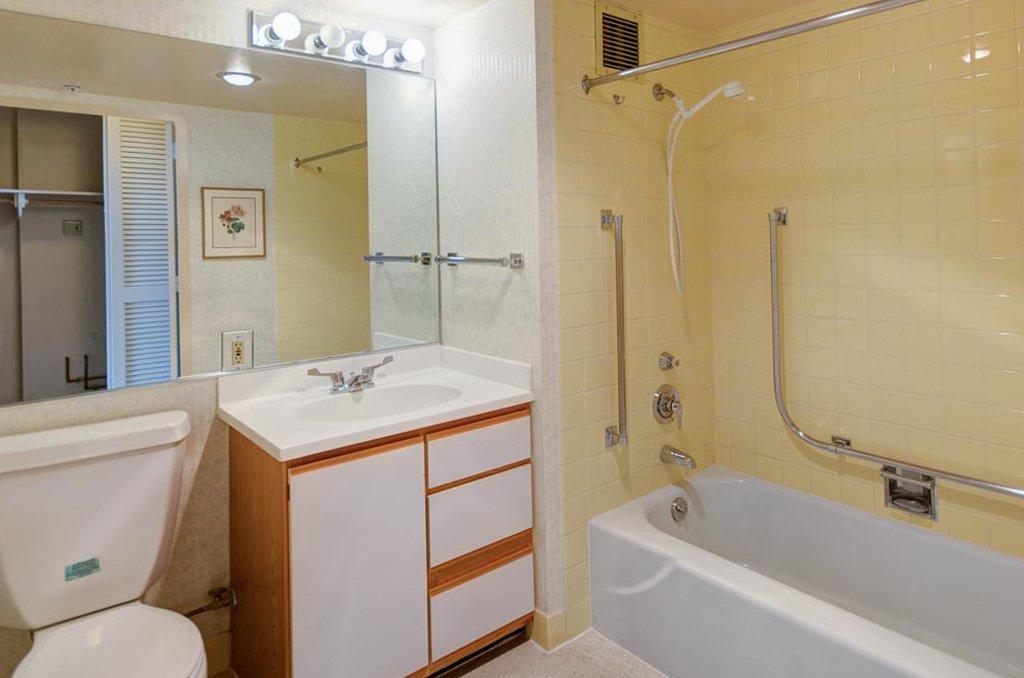 Portfolio before remodel bathroom