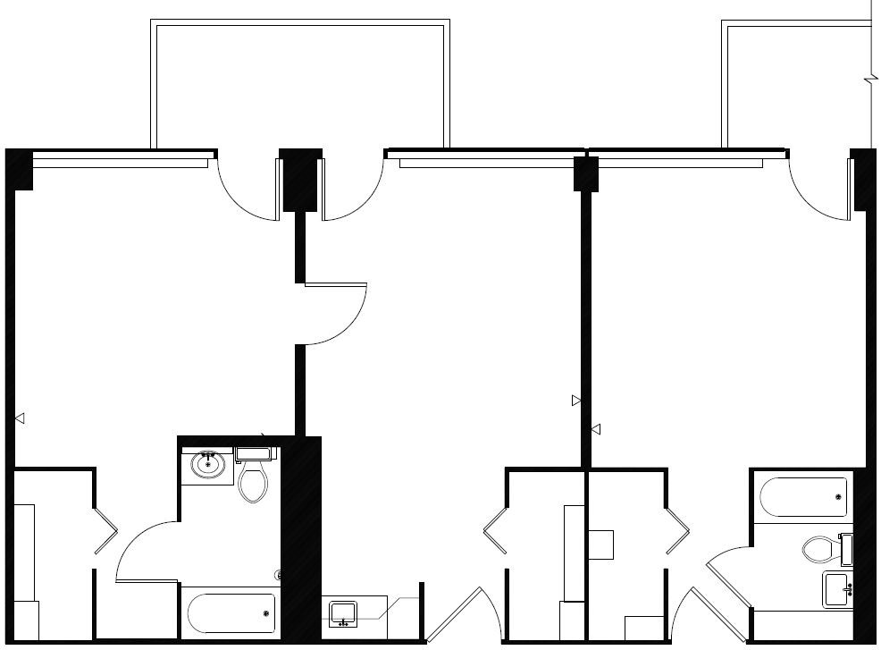 As-built Floor plan