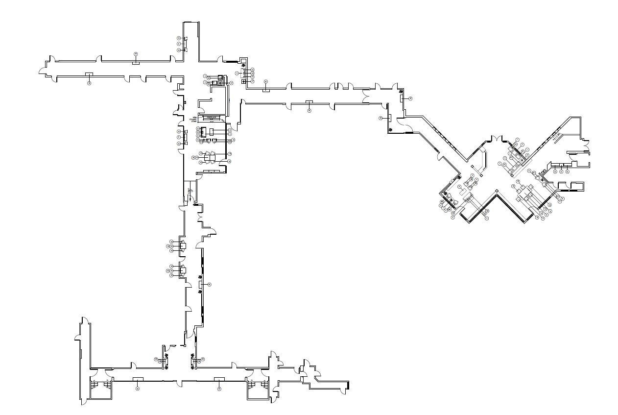 Kenney entire lobby and 4th floor floor plan