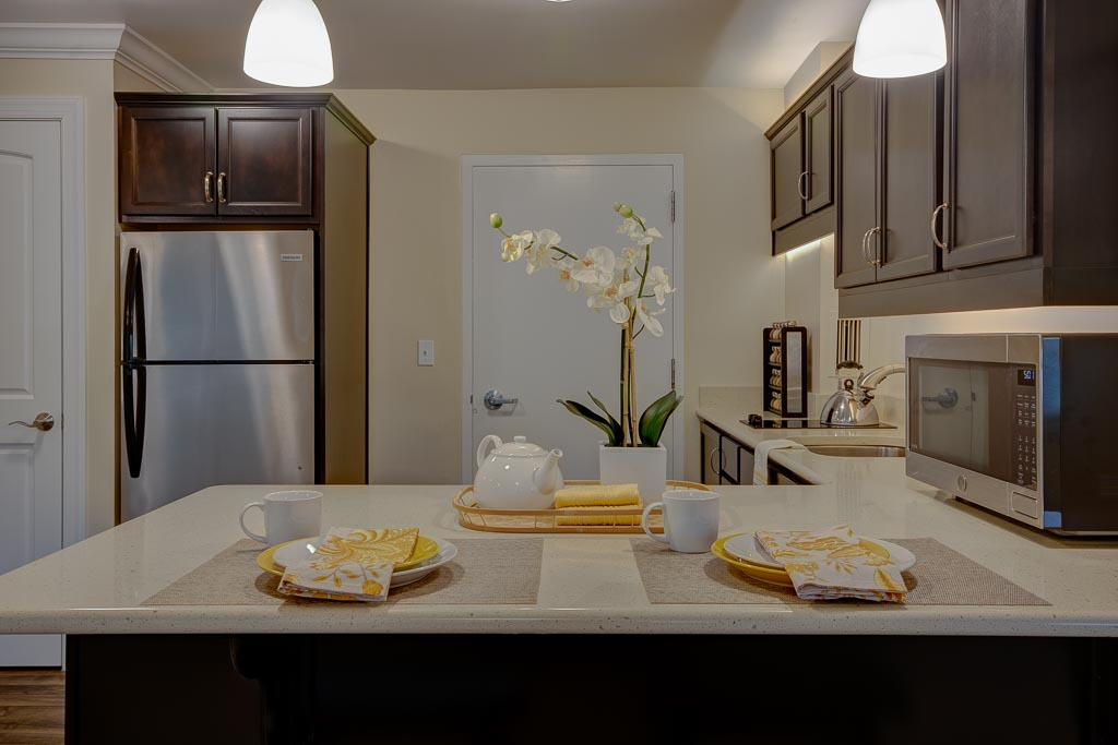 Judson Park IL Apartments Kitchen Stage