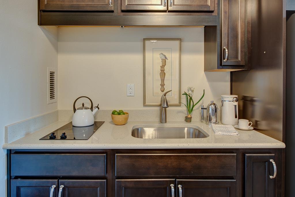 Judson Park IL Apartment kitchen stage