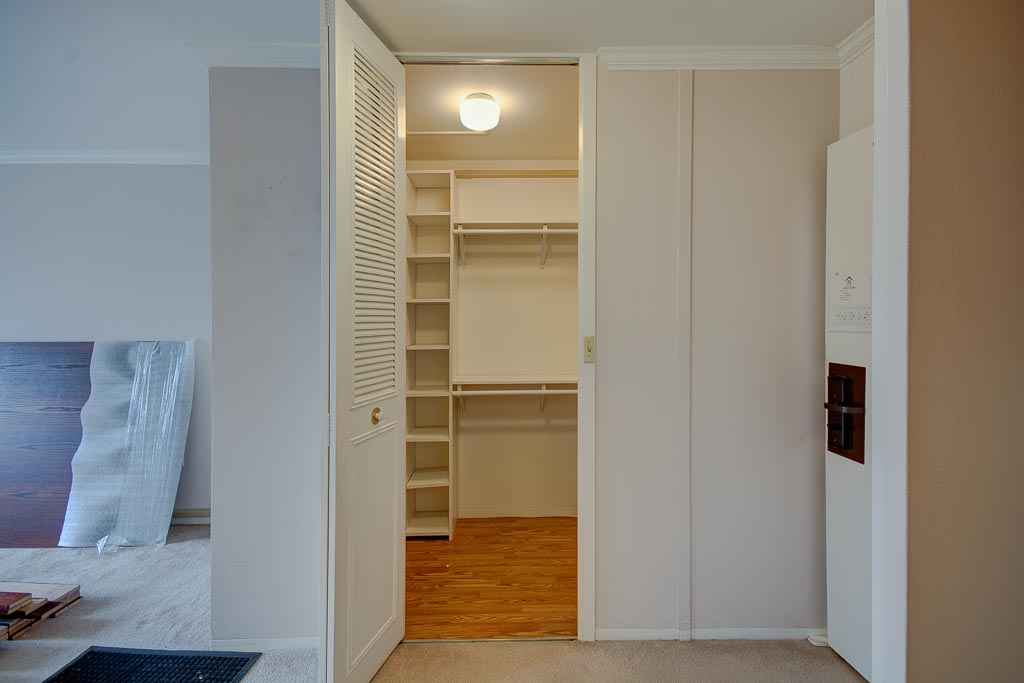 Hearthstone before remodel walk-in closet