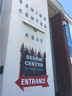 West Seattle Senior Center Entrance