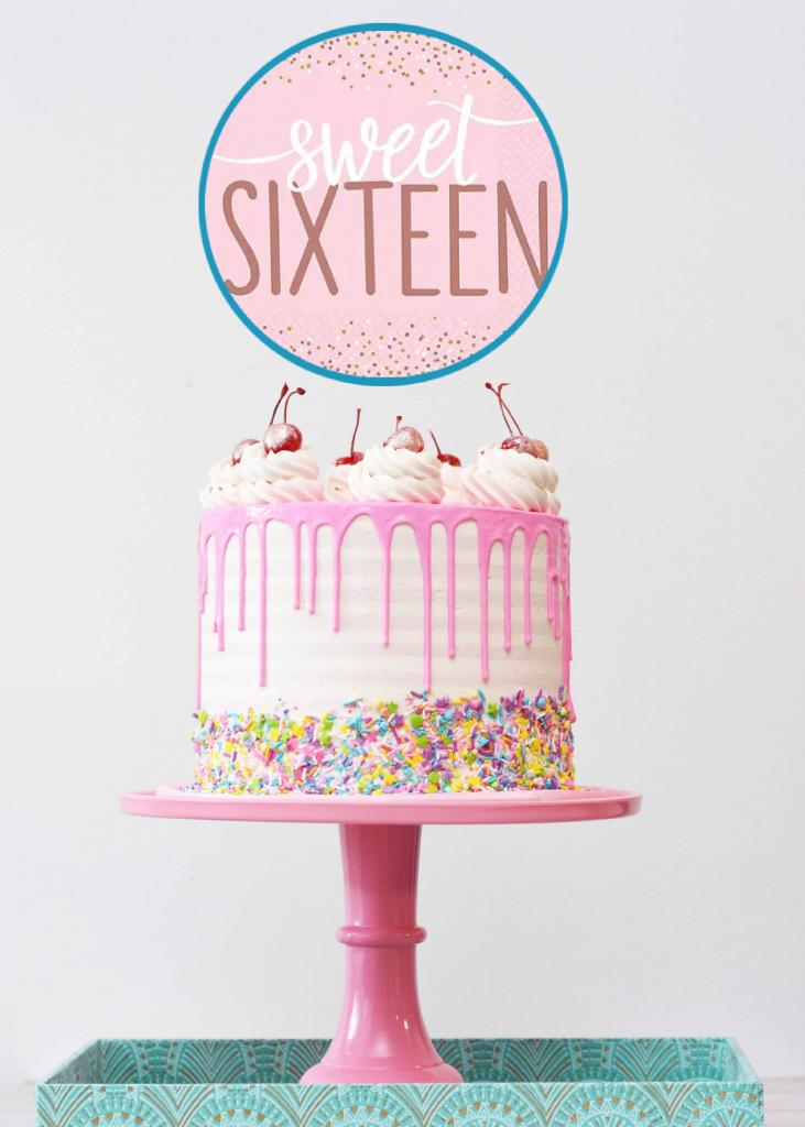 Lead Image introducing S 365 Sweet 16 Birthday